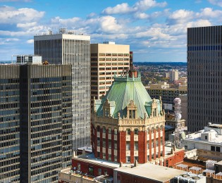 2Hopkins view of downtown Baltimore